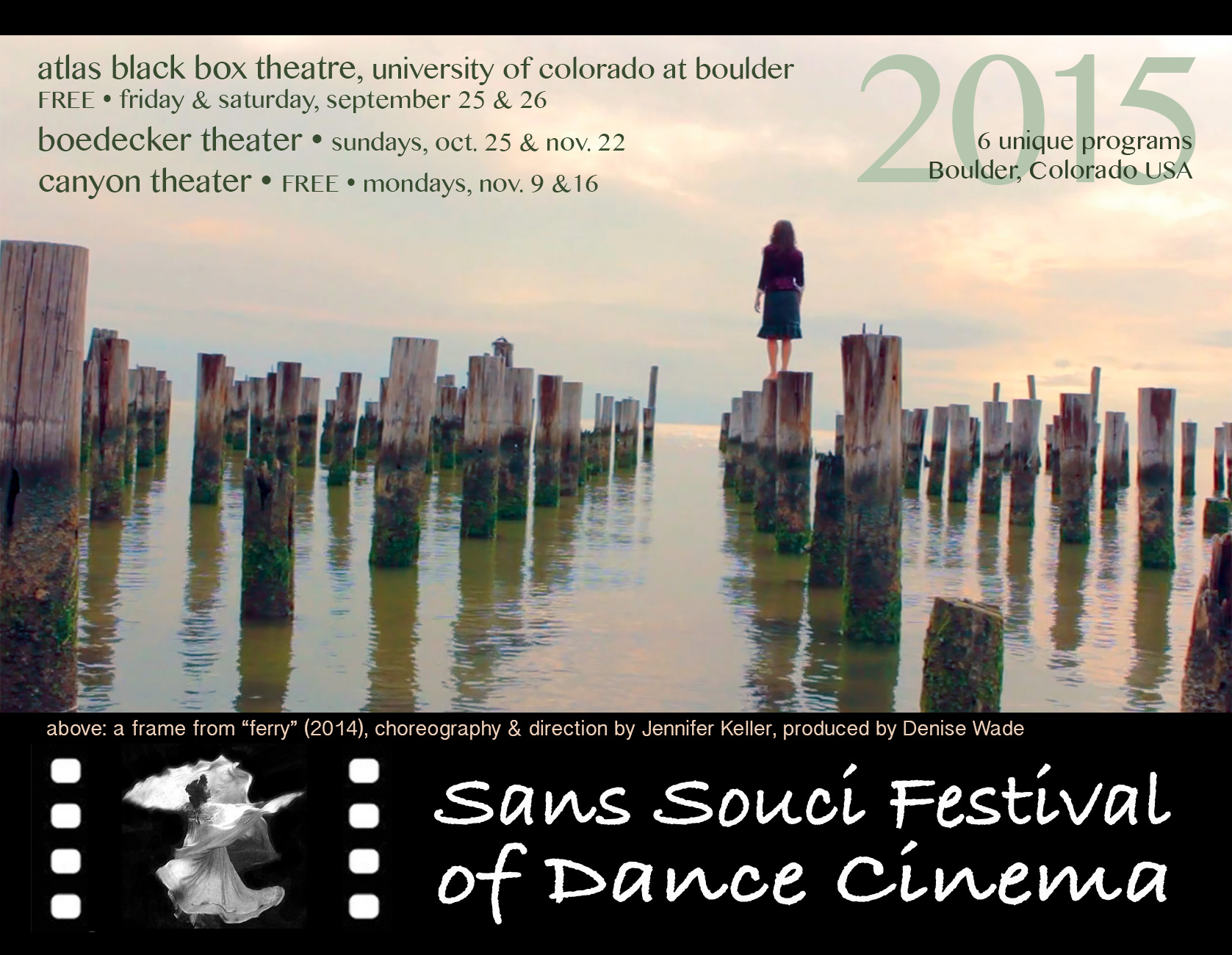 Twelfth Annual Sans Souci Festival of Dance Cinema