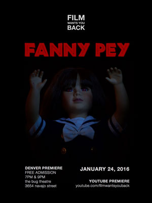 FANNY PEY: Free Denver & Youtube Premiere!